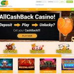 Earn cashback - 1x wager at All CashBack Casino!