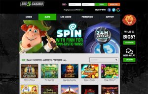 big 5 casino games