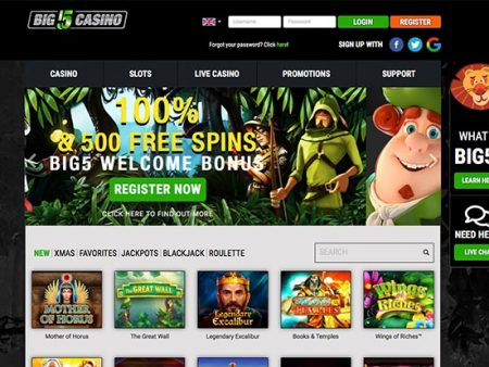 5 Reasons to explore Big 5 Casino