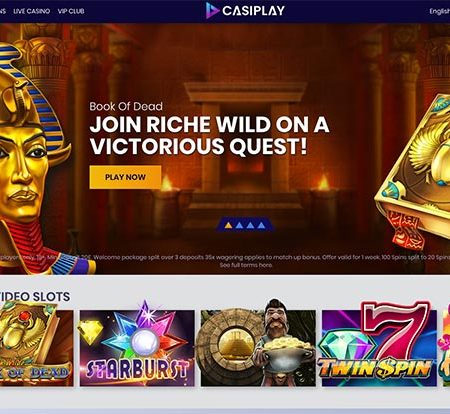 Casiplay: Great gaming options, big bonuses!