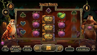 Jungle Books slot by Yggdrasil