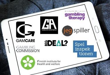 Logos for Gambling Help Organisations
