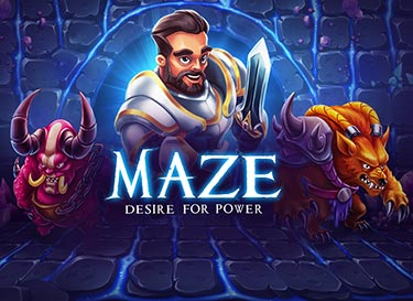 Maze Desire For Power logo