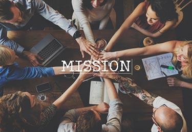 Our mission: Hands together