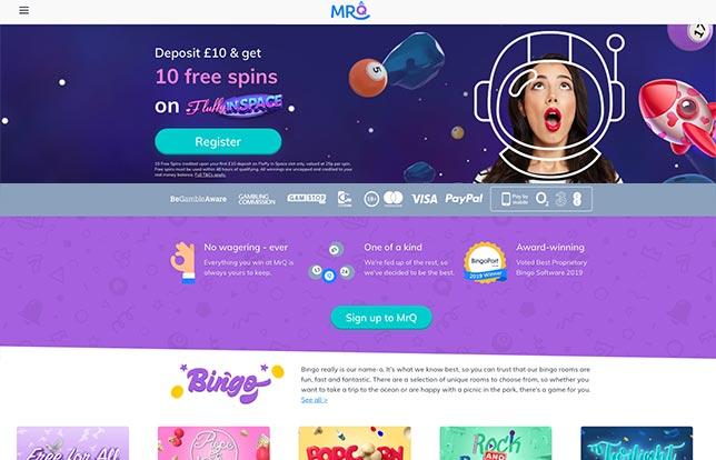 MrQ Startpage