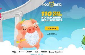 Piggy Bang Exclusive Bonus 110 spins