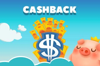 Piggy Bank with Cashback