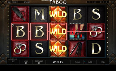 Taboo Slot Endorphina