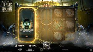 Tesla's incredible Machine - Casino game screenshot