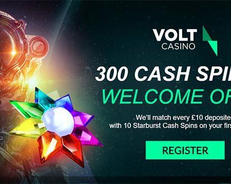 5 reasons why VOLT Casino Rocks