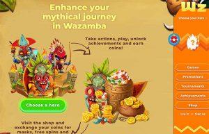Wazambas' mythical journey