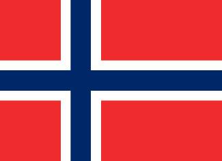 Norge flagga