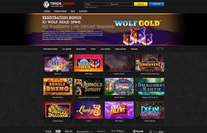 Trada Casino Reg Bonus: No Deposit Free Spins